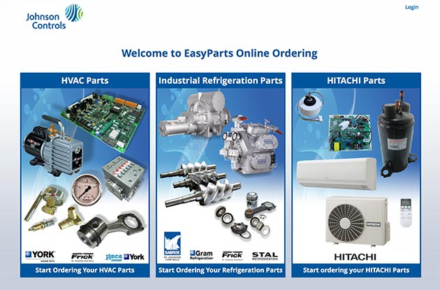 GERMANY: Johnson Controls has extended its EasyParts chiller and air conditioning spares platform to Germany.