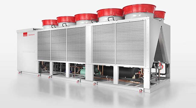Stulz R1234ze chiller for data centres