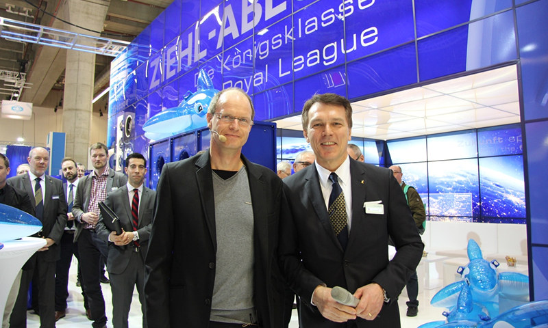 Ziehl-Abegg Showcased Zabluefin for Central Air-Conditioning Control Units at ISH in Frankfurt