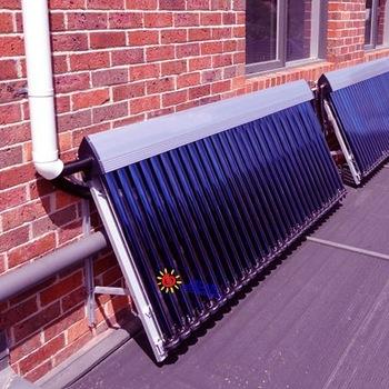 Balcony wall/rooftop mounted selective coating flat panel so.