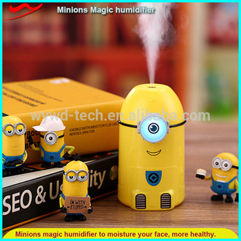 Minion led humidifier creative 40th birthday gift ideas for husband