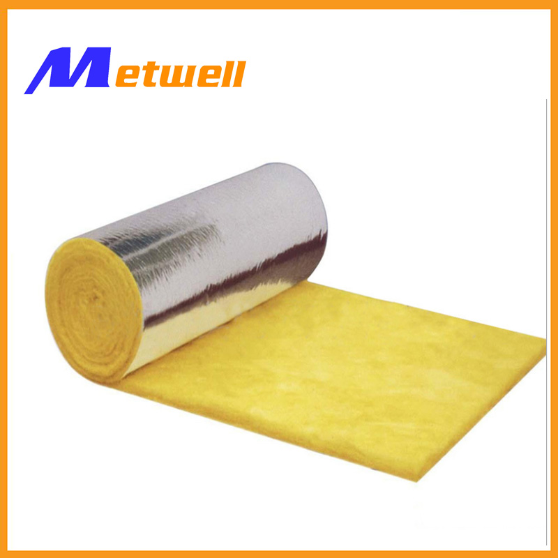 Vacuumized packing fiber glass wool insulation with fsk for Fiber wool insulation