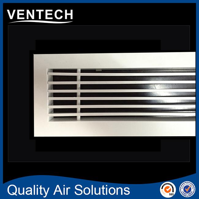 Hvac systems type Ventilation aluminum linear bar grille