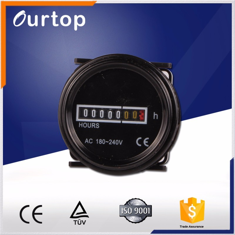 Programmable Hour Meter : Cn v a daily weekly programmable