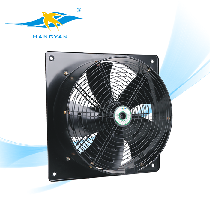 Smoke Extractor Fans : Three phase smoke axial extractor fan ywf d coowor
