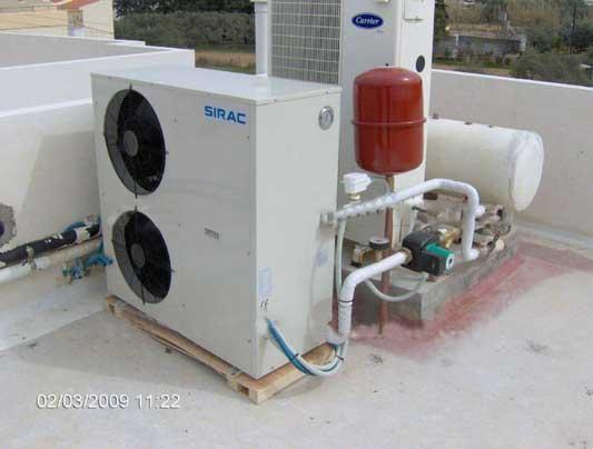 Superb House Heating Pump, Heat Pump EN14511 Water Heater , Air Source Heat Pump
