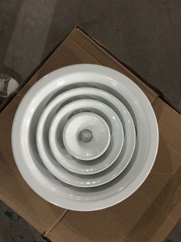 Air Conditioning Round Diffuser Air Diffuser Aluminum