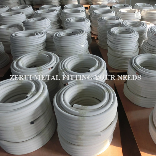 24000btu insulated air conditioner copper pipe in 50m coil for How to insulate copper pipes