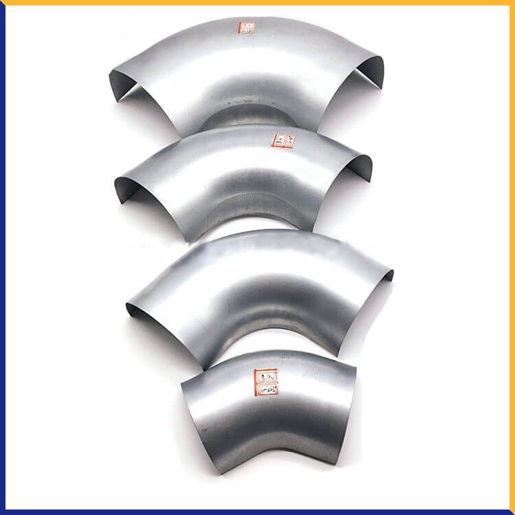 Hvac duct accessory steel pipe fittings flange