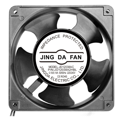 JING DA FAN  JD12038A2HBL ,120X120X38MM