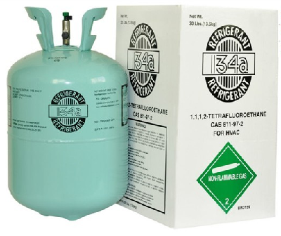 Refrigerant gas R134a   13.6kg   99.9% purity