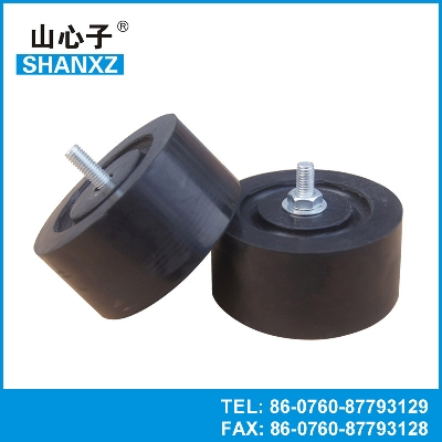 Air conditioner anti vibration mount rubber damper for Anti vibration motor mounts