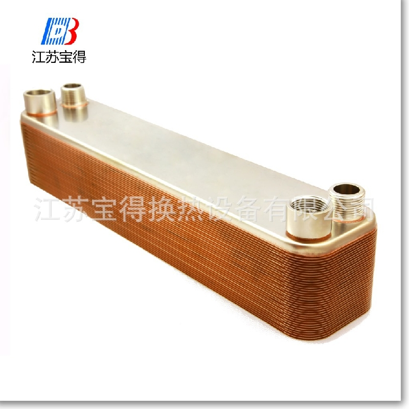 Auto Mobile Engine Oil Cooler : Bl series copper brazed plate type car engine oil cooler