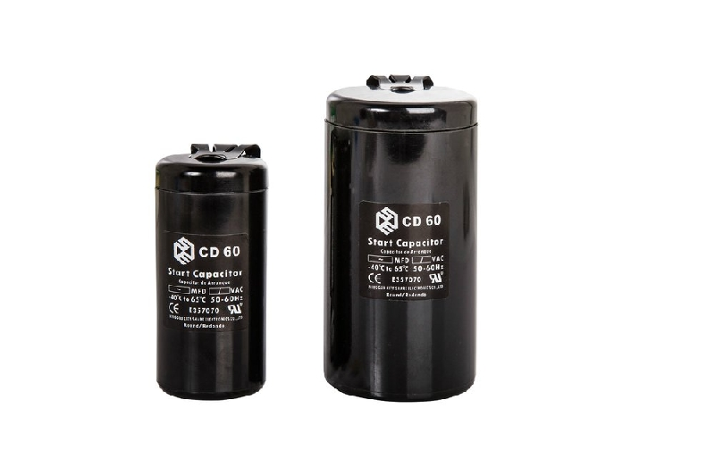 Motor Start Capacitor Cd60 With The Cable And Cap Standard