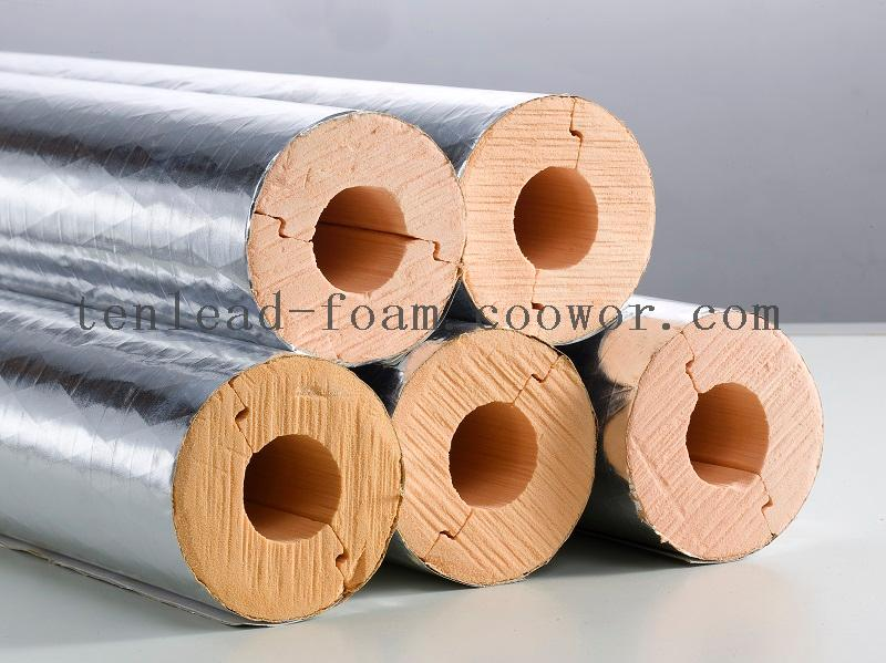 Foil Faced Phenolic Foam Insulation Pipe Section Coowor Com