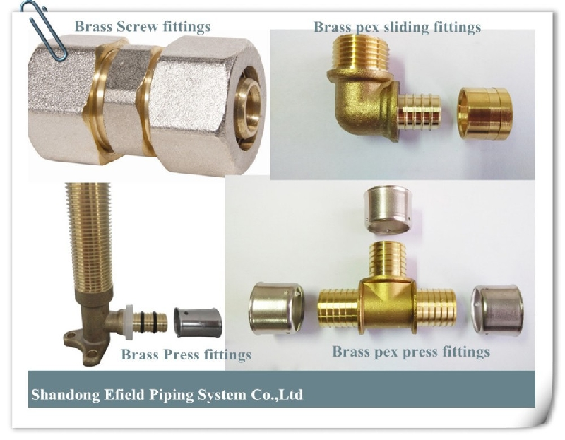 2014 hot sale pipe fittings brass press fittings elbow for Copper pipe to pex fitting