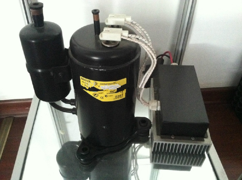 Dc air conditioner 12000btu solar powerd air conditioning for Etek r brushed dc electric motor