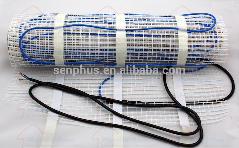 diy mat cable underfloor heating system electric heated floor