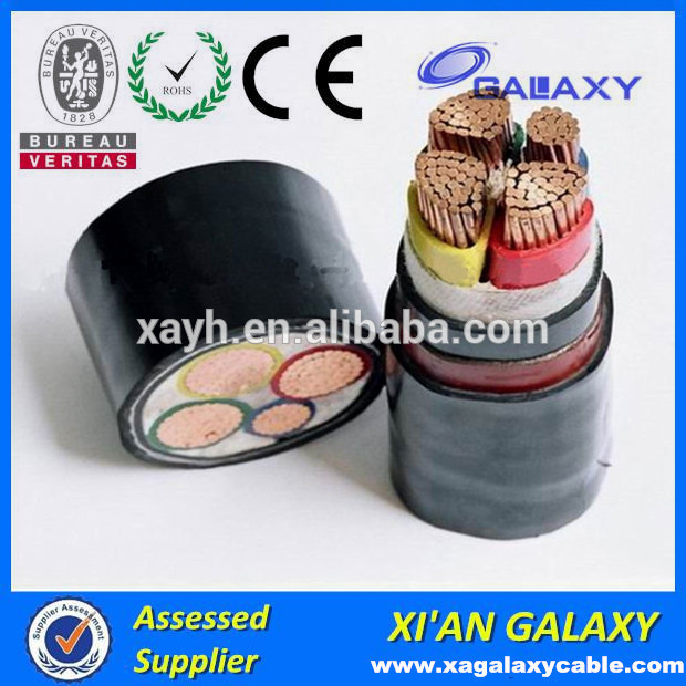 PVC Power Underground Electric types cable wire 4mm 6mm 10mm 16mm ...