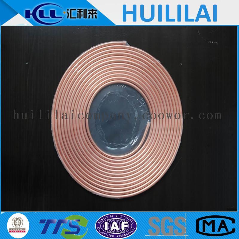 Large diameter ac pancake coil copper pipe coowor