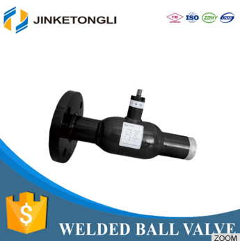 Single Flanged Welded Ball Valve