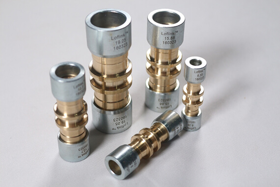 Refrigerant Copper Fittings New Connector Loflink For