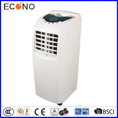 ECN NPA1-10C 10,000 BTU Portable Air Conditioner with Electronic Controls & 4 four wheels