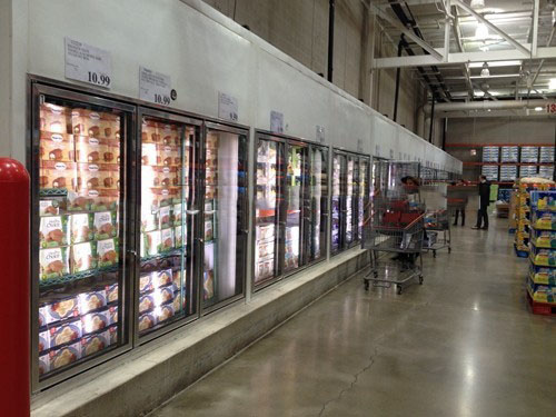 Anti Condensation Glass Door For Walk In Cooler Freezer