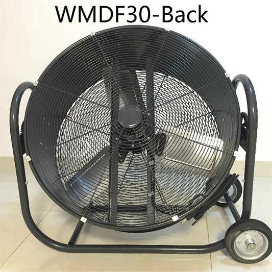 High Velocity Industrial Fans : Large high velocity industrial floor fan inch