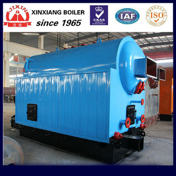 High Performance Manual Feeding Lean Coal fired Horizontal Hot Water Boiler for sale
