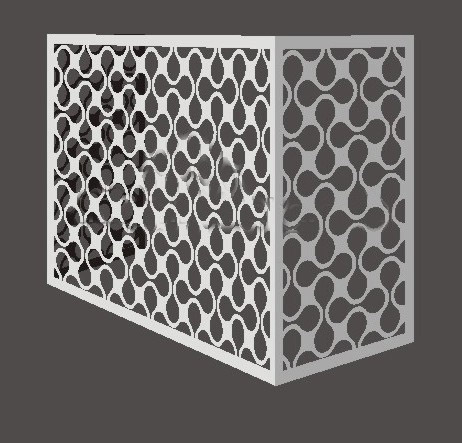 Soundproof Decorative Outdoor Air Conditioner Cover Colorful With Factory Price