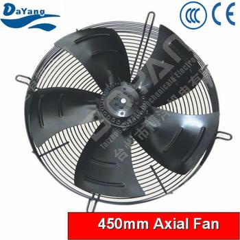 450mm ac wall mounted industrial exhaust axial fan for Industrial exhaust fan motor