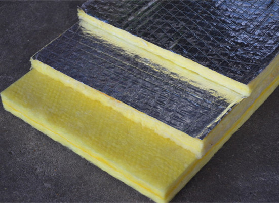 Fireproof fiberglass wool slab thermal insulation for Fiberglass thermal insulation