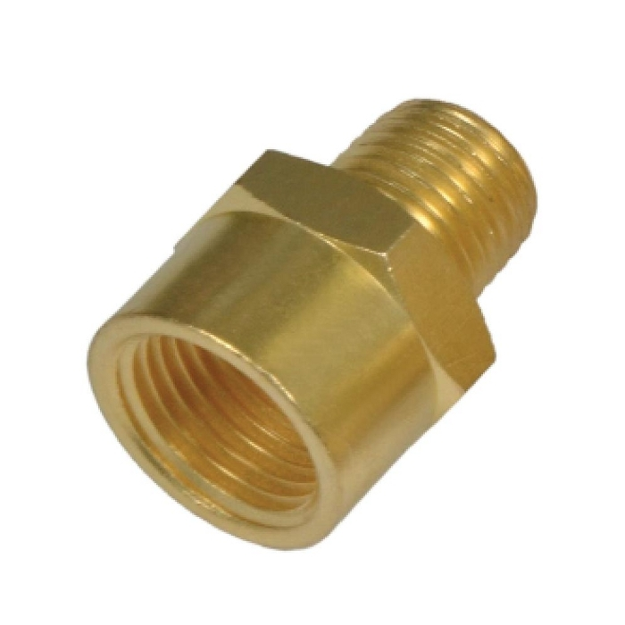 Female brass adapters in air conditioning coowor