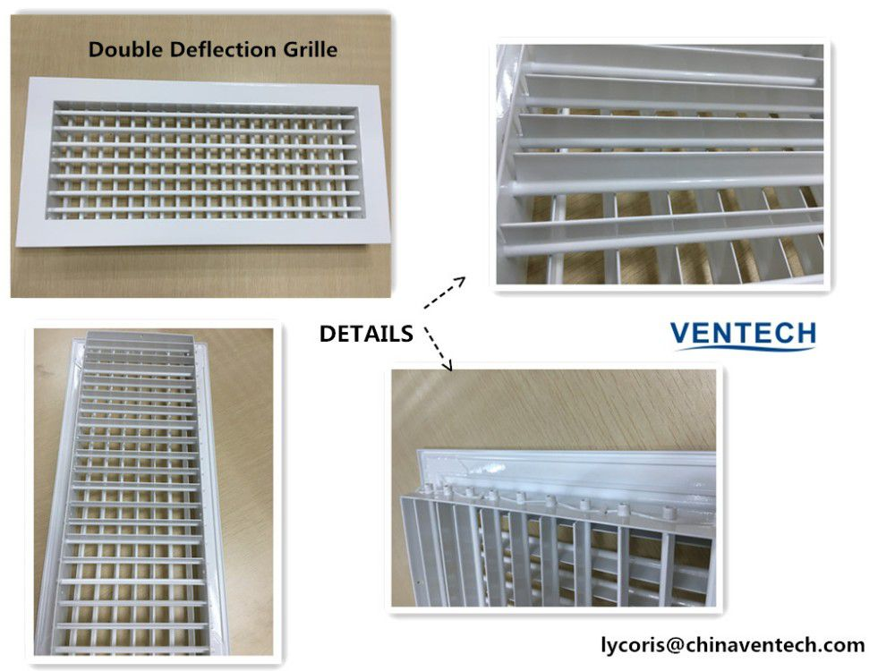 Ventilation Aluminum Grille Central Air Conditioning