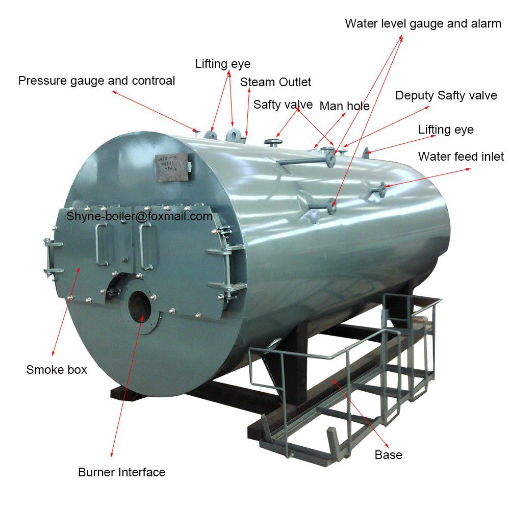 Best Service ! Natural Gas Fired Steam Boiler Price - Coowor.com