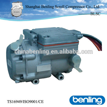 24v dc compressor 2 90 kw of truck roof air conditioner for Dc motor air conditioner